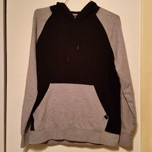 Oakley black & grey long sleeve hooded pull over